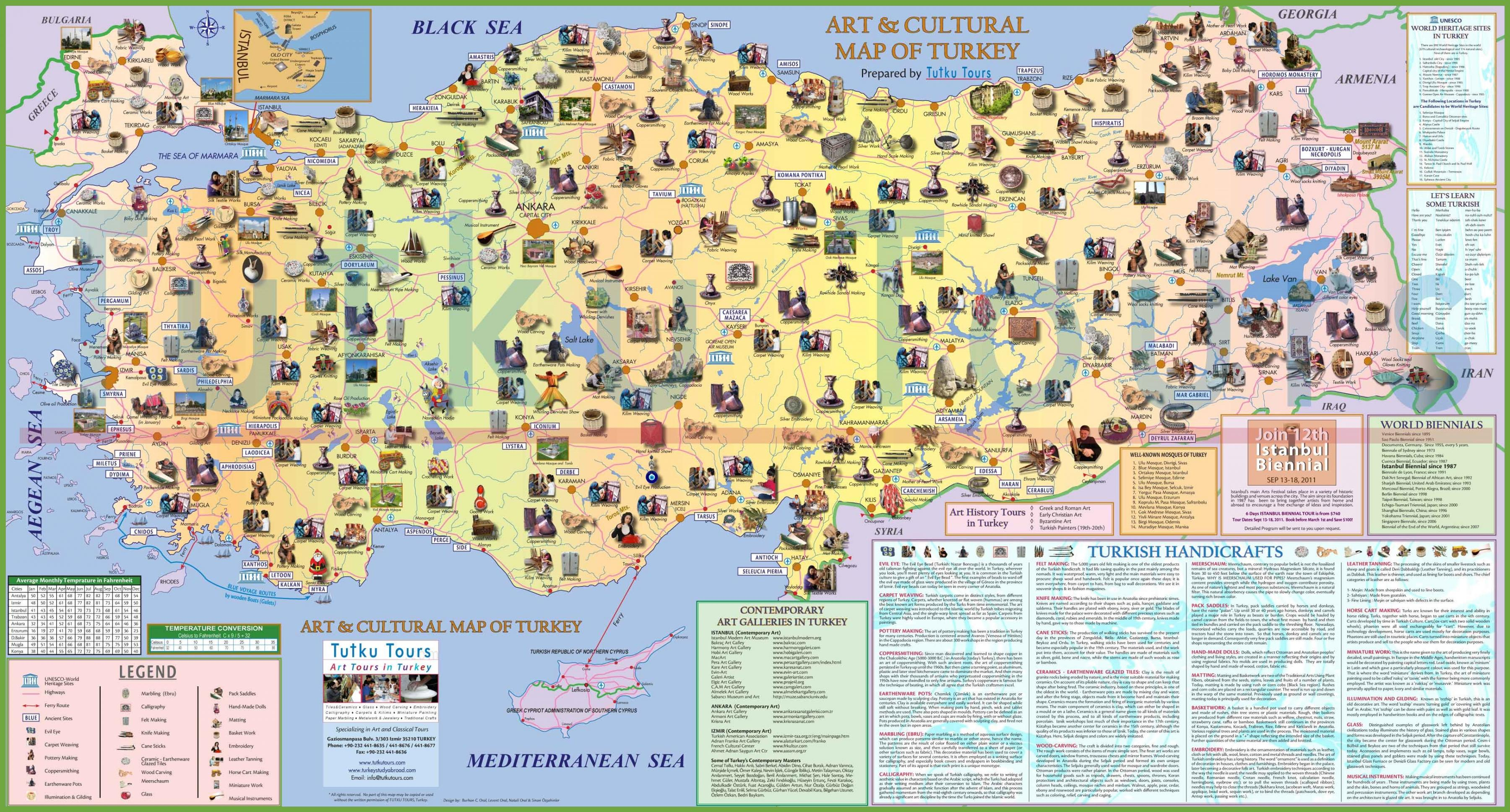 Turkey Tourist Attractions Map Turkey Attraction Map Western - Turkey map